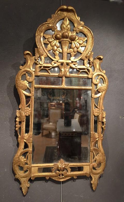 Achat vente miroirs miroir dit de beaucaire provence 18 for Miroir xviii