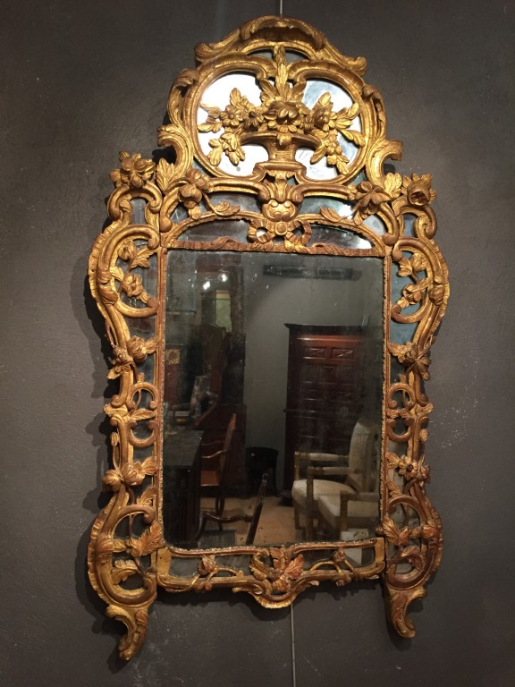 Achat vente miroirs miroir proven al 18 me ep louis xv for On traverse un miroir