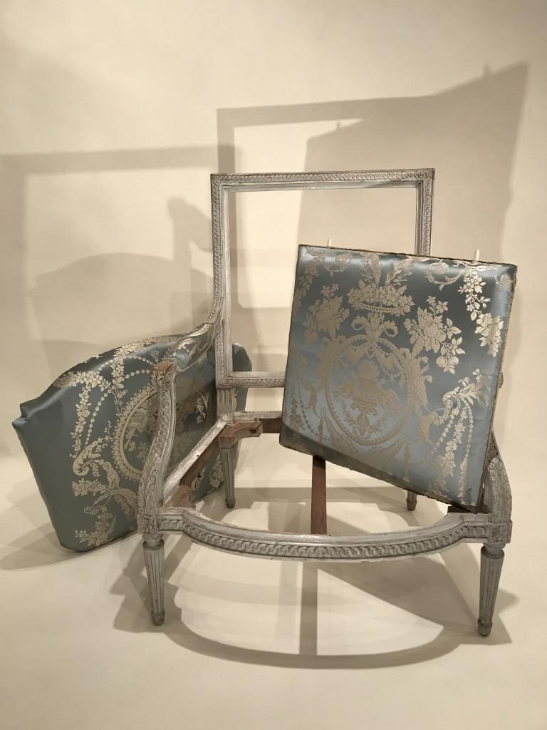 Achat vente Sièges Paire de larges fauteuils à châssis, Paris époque ...